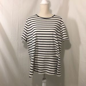 Lauren Ralph Lauren plus size stripe top